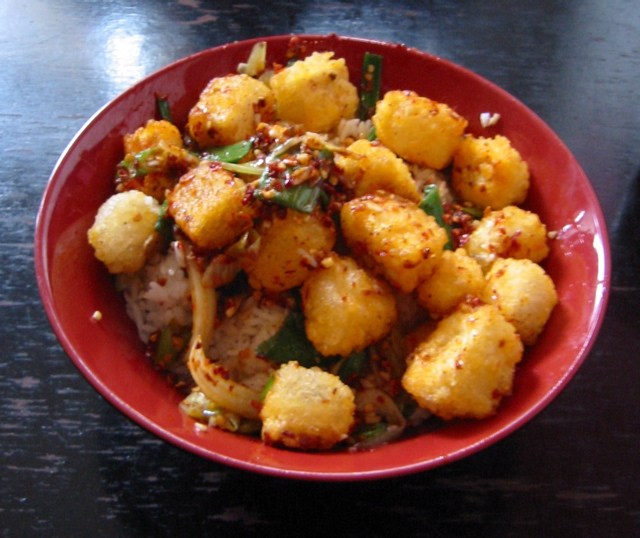 ... golden on all hot and spicy tofu recipe hot and spicy tofu 300x225